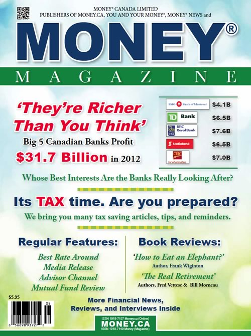 MONEY MAGAZINE SPRING 2013